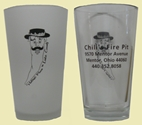 Chili's Fire Pit - Beer Glasses