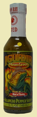 Iguana Pepper Sauces