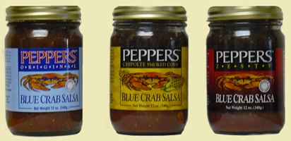 Pepper's Blue Crab Salsa